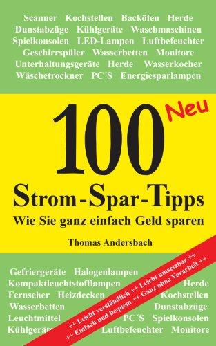 100 Strom-Spar-Tipps