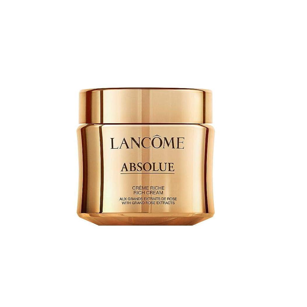 入り口スロット文明化Lancome Absolue Rich Cream ランコム アプソリュ リッチクリーム 60ml