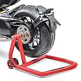 Facile e sicuro sollevamento della ruota posteriore per la riparazione e manutenzione