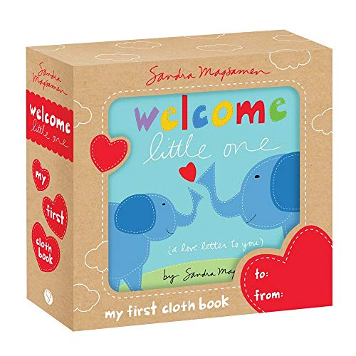 Welcome Little One: My First Soft Cloth Book: A Sweet and Snuggly Touch-and-Feel Book for Newborns to Play and Grow (gender neutral baby shower gifts ... (Welcome Little One Baby Gift Collection)