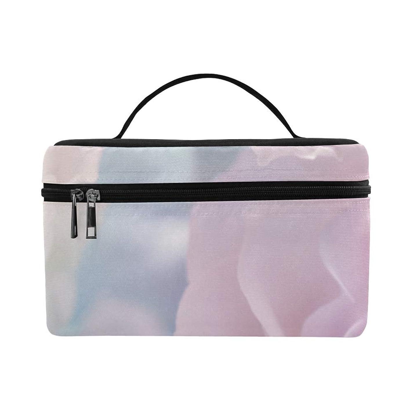 オート南方の合法GXMAN メイクボックス コスメ収納 化粧品収納ケース 大容量 収納ボックス 化粧品入れ 化粧バッグ 旅行用 メイクブラシバッグ 化粧箱 持ち運び便利 プロ用 ピンクの花