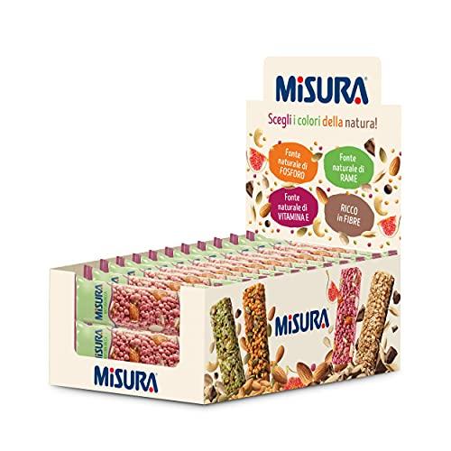Misura Snack Cereali Natura Ricca | Barrette Cereali, Fichi Semi Di Girasole E Mandorle | Confezione Da G, 330 Grammo