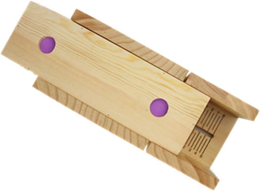 QLIGHA Soap Cutter Slicer Handmade L 67% OFF of fixed price Wooden Mold Arlington Mall Adjustable