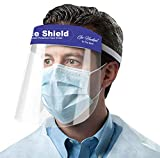 Go Hooked 350 Microns Safety Face Shield, Anti-fog Full Face Shield, (Pack of 2)