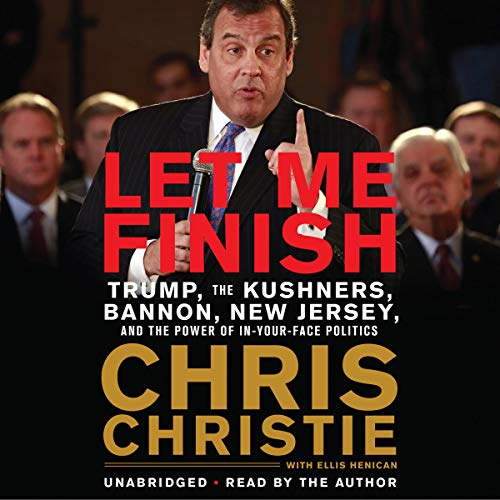 Let Me Finish audiobook cover art