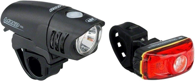 NiteRider Mako 250 Cherrybomb 35 Combo Bike Headlight Taillight