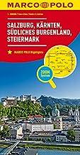 Marco Polo Salzburg, Karinthië, Stiermarken, Zuid-Burgenland 02: Wegenkaart 1:200 000