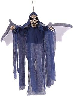 Voloki Halloween Pipistrello colgado Fantasma Bar Haunted House Secret Room Bat batientes Fantasma eficiente