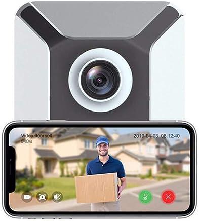 $29 Get Beyonds Smart WiFi Door Bell, New generationIntruder Alert Instant Motion Detector Night Vision 2 Way Voice Communication Home Surveillance Camera 166' Surround Vision