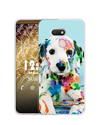 Sunrive Kompatibel mit HTC Desire 12S Hülle Silikon, Transparent Handyhülle Schutzhülle Etui Hülle (Q H& 2)+Gratis Universal Eingabestift MEHRWEG