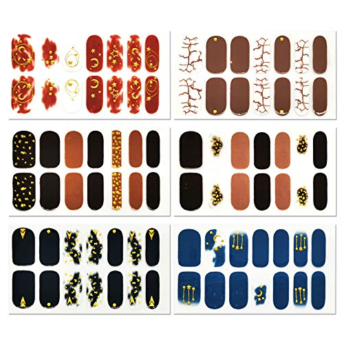 Sheets Full Nail Wraps Art Polish Stickers by SOCU