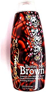 Ed Hardy Butter Me Brown Indoor Tanning Bed Lotion Bronzer 10 Oz