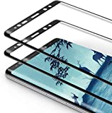 Snnisttek Protector Pantalla para Samsung Note 9, 2-Unidades Cobertura Toda Pantalla Cristal Templado Samsung Note 9, Alta Definicion, Vidrio Templado, 9H Dureza, Sin Burbujas, Fácil de instalar