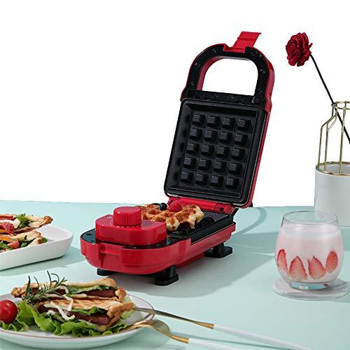 Vleesmolen sandwichmaker contactgrill wafelijzer broodrooster met verwisselbare platen antiaanbaklaag en LED-verlichting
