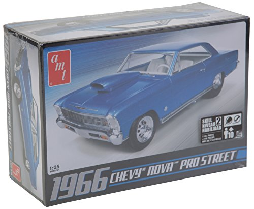 AMT AMT636R 1:25 Scale 1966 Chevy Nova Pro Street Model Kit