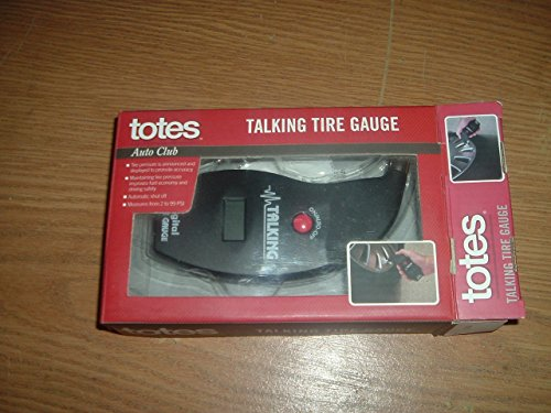 Talking Tire Gauge. Best Tire Pressure Guage, Air Guage, Electronic Device with Ergonomic Design