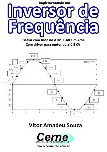 Implementando um Inversor de Frequência Escalar com Base no ATMEGA8 e mikroC Com driver para motor de até 3 CV