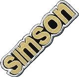 Logo Aufnäher / Iron on Patch ' Simson '
