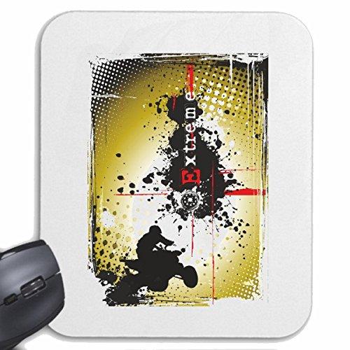 Mousepad alfombrilla de ratón Extreme Racing QUAD carrera de Fórmula carretera de motor de la velocidad del equipo clásico americano para su portátil, ordenador portátil o PC de Internet (con Windows