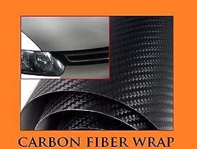 1990-1996 CHEVROLET CHEVY BLAZER / BLAZER S10 BLACK Carbon Fiber Hood Dash Mirror Roof Wrap Sheet Vinyl Decal 12'' x 60'' 1991 1992 1993 1994 1995 90 91 92 93 94 95 96