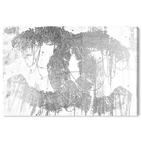 The Oliver Gal Artist Co. Fashion and Glam Wall Art Canvas Prints 'Hey Lolita Silver' Home Décor, 36