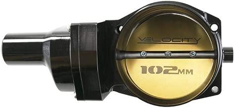 TSP 81014BK Velocity 102mm Fly By Wire Billet Aluminum LS Throttle Body, 4-Bolt, Black
