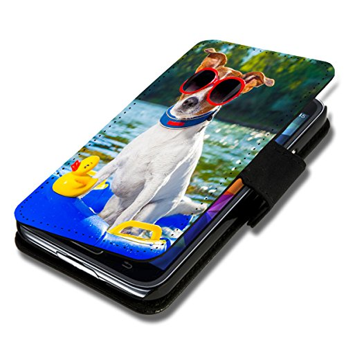 wicostar Book Style Flip Handy Tasche Hülle Schutz Hülle Schale Motiv Etui für Wiko Highway 4G - Flip 1X16 Design12