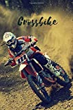 Crossbike: Motorisation Notebook, Journal, Diary (110 Pages, Blank, 6 x 9)