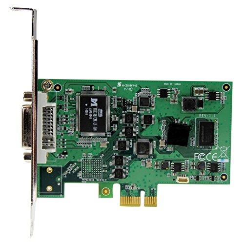 StarTech.comフルHD対応PCIeキャプチャーボードHDMI/VGA/DVI/コンポーネント対応1080pロープロファイル/フルプロファイルの両方に対応PEXHDCAP2