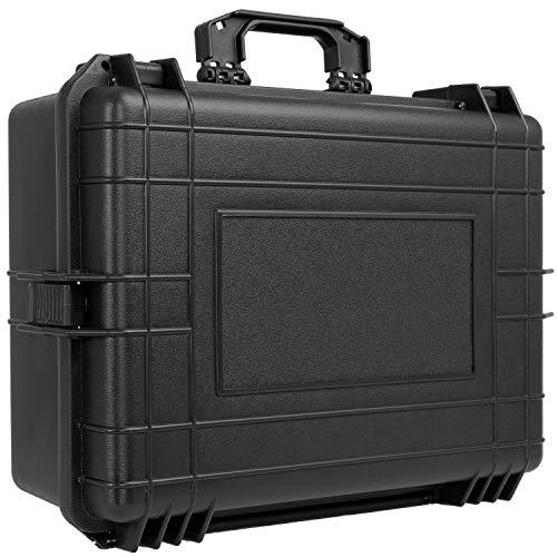 KESSER® Kamerakoffer 35 Liter unisversal, wasserdicht, Outdoor, wetterfester, staubdichter, Koffer, Fotokoffer mit Einlage für Kamera Objektive und Zubehör,