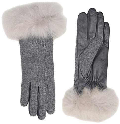 UGG 17428 Shortty Glove Light Grey gris L