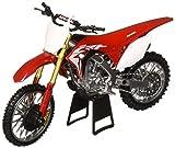 New-Ray NewRay 1: 12 Motorcycles - Honda CRF450R (Red) Diecast Vehicles