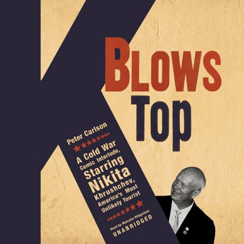 K Blows Top audiobook cover art