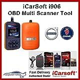 iCarsoft CR PRO Profi all-in-One Set da 5 Dispositivo diagnostico per Oltre 40 Marche di Veicoli OBD 2