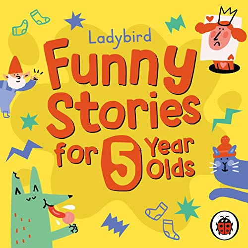 Ladybird Funny Stories for 5 Year Olds cover art
