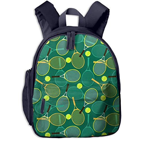 Yuanmeiju Kid 's Mochila Raquetas de Tenis y Pelotas Mochila de Moda Bolso de Hombro