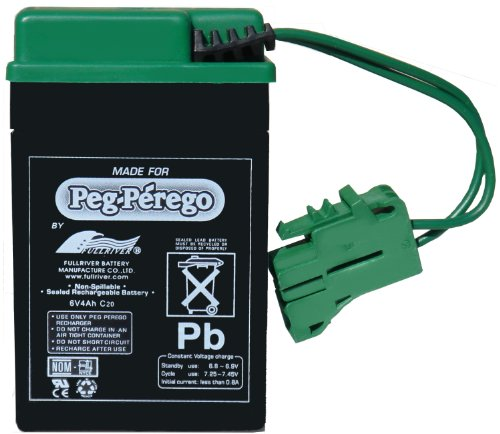 Peg Perego 6 Volt Replacement Battery Vehicles