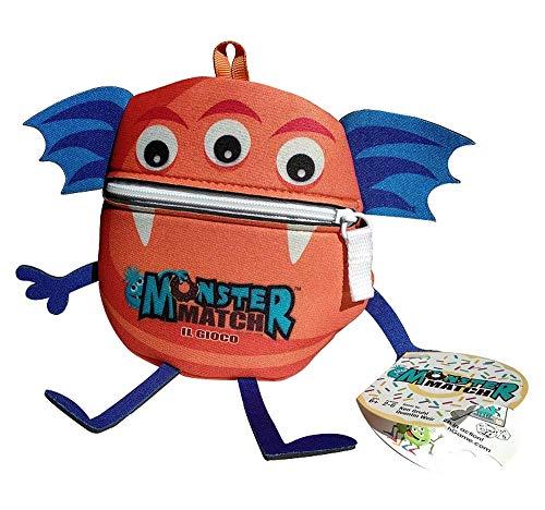 dV Giochi- Monster Match-Il più Veloce Catturerà più Mostri degli Altri-Edizione Italiana, Colore Arancione, DVG9350
