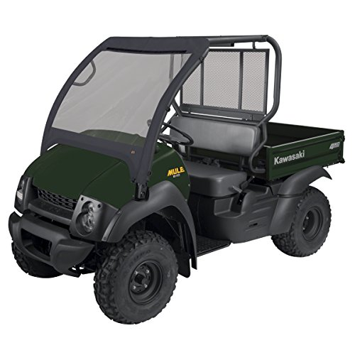 Classic Accessories QuadGear Black UTV Front Windshield