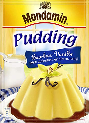 Mondamin Pudding Bourbon-Vanille, 3 Portionen, 13er Pack