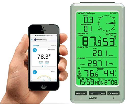 Ambient Weather Temperature Barometer Monitoring