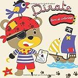 livre de coloriage: speciale pirate- les aventures de Doudou pirate et ses amis