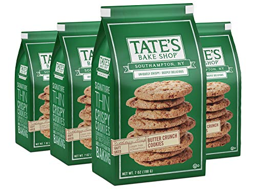 Tate's Bake Shop Thin & Crispy Cookies, Butter Crunch, 7 Oz, 4Count