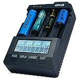 Opus BT - C3100 V2.2 Digital Intelligent 4 Slots LCD Battery Charger for Li-ion NiCd NiMh Batteries