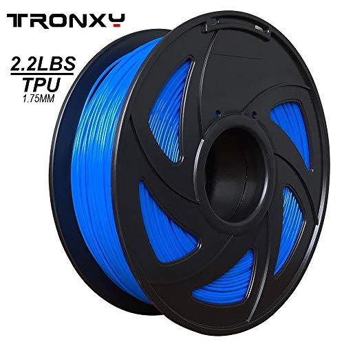 Flexibler blauer blauer TPU-Faden 1.75 mm, 2.2 LBS (1KG) Material: TPU