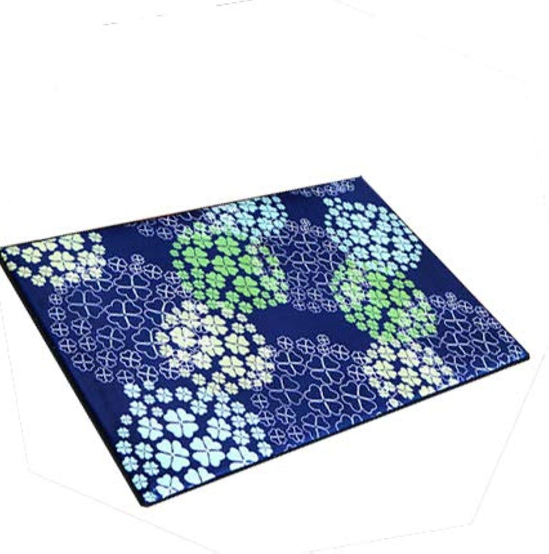 Door mat,Doormats Indoor mats Bedroom The Door Anti-Slipping mats Hall Indoor Doormat-blueeb 60x90cm(24x35inch)