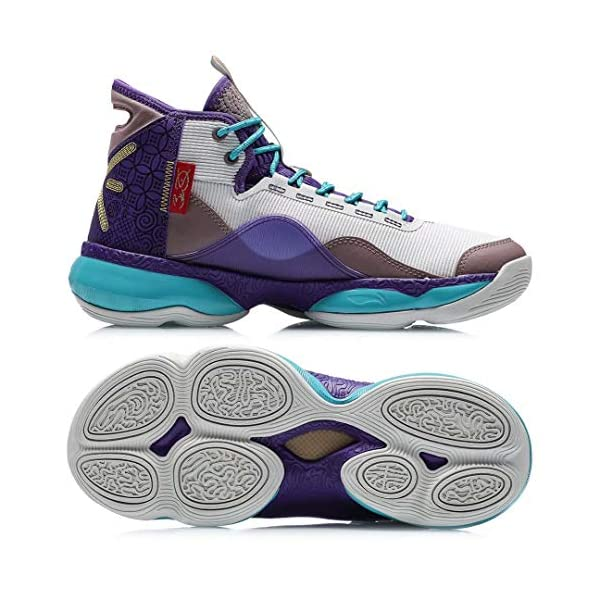 LI-NING Wade Shadow On Court Men Basketball Shoes Cushion Wearable Lining Cloud Sport Shoes Fitness Sneakers ABPQ007