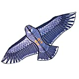 Besra 74inch Eagle Kite Bird Kite with Flying Tools Outdoor Fun Sports for Beach (Eagle)