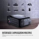 Zoom IMG-1 proiettore nativa 1280 720p abox