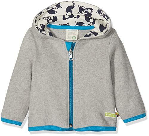 loud + proud loud + proud Unisex Baby Jacke Fleece, Grau (Grey Gr), 62/68